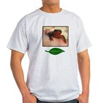 Rough Skinned Newt Salamander Light T-Shirt