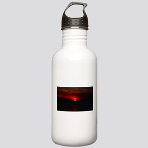 Red Sunrise Over The A Stainless Water Bottle 1.0L