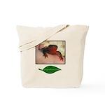 Rough Skinned Newt Salamander Tote Bag