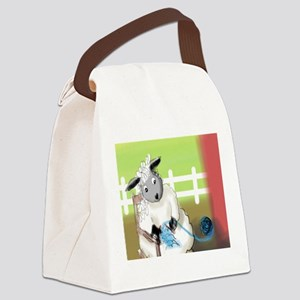 knitting barn Canvas Lunch Bag