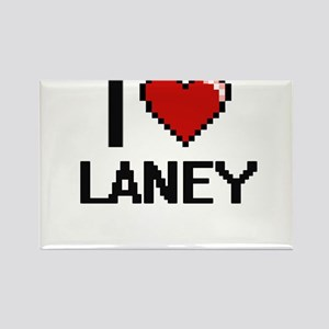 I Love Laney Digital Retro Design Magnets