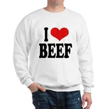 I Love Beef Sweatshirt