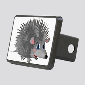 Happy Hedgehog Rectangular Hitch Cover