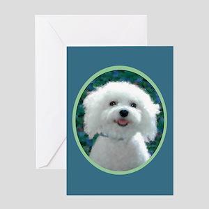 Bichon Frise Charmer Greeting Card