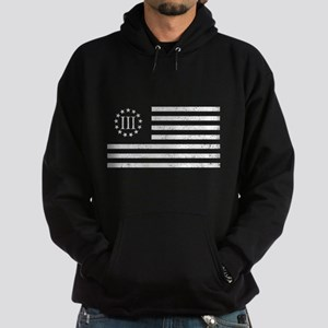 III Percenters Oath Keepers Hoodie (dark)