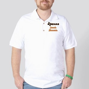 Texas Speech Therapist Golf Shirt