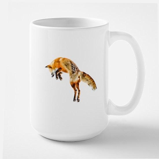 Leaping Fox Large Mug