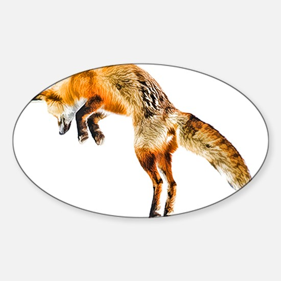 Leaping Fox Decal
