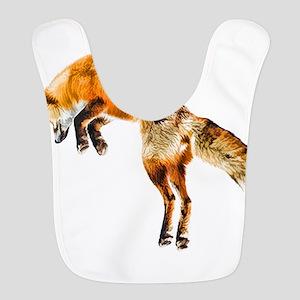 Leaping Fox Bib