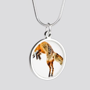 Leaping Fox Necklaces
