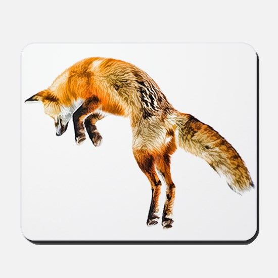 Leaping Fox Mousepad