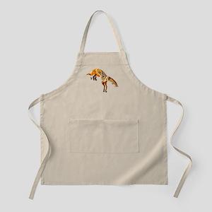 Leaping Fox Apron