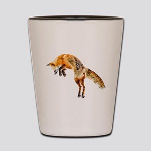 Leaping Fox Shot Glass