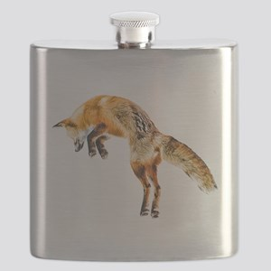 Leaping Fox Flask