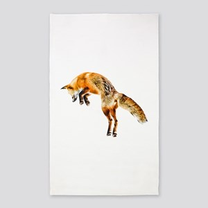 Leaping Fox Area Rug
