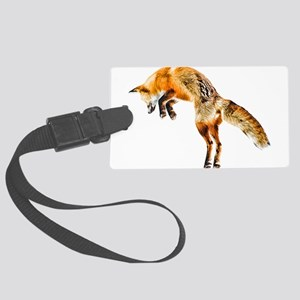 Leaping Fox Large Luggage Tag