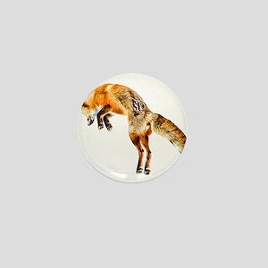 Leaping Fox Mini Button