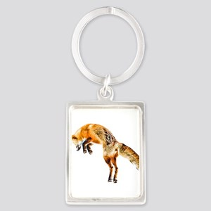 Leaping Fox Keychains
