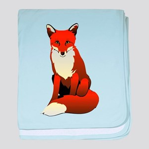 Foxy Lady baby blanket