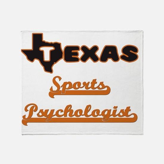 Texas Sports Psychologist Throw Blanket