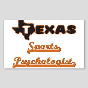 Texas Sports Psychologist Sticker