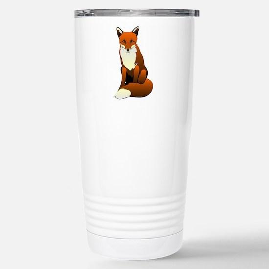 Foxy Lady Stainless Steel Travel Mug