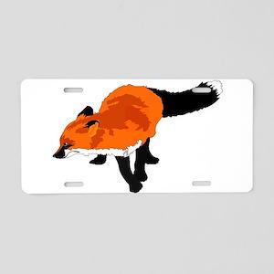 Sly Fox Aluminum License Plate