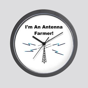 Antenna Farmer Wall Clock