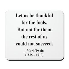 Mark Twain 17 Mousepad