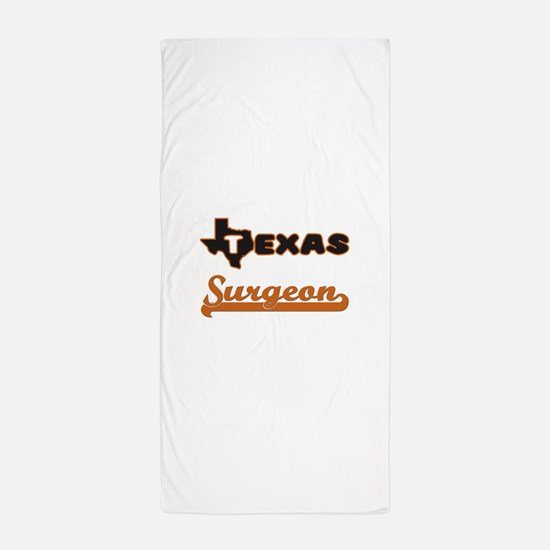 Texas Surgeon Beach Towel