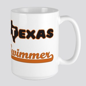 Texas Swimmer Mugs