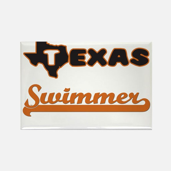 Texas Swimmer Magnets