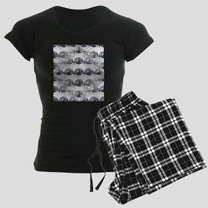 disco ball Women's Dark Pajamas