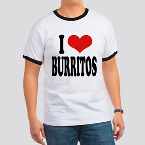 I Love Burritos Ringer T