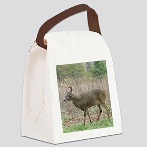 Whitetail buck Canvas Lunch Bag