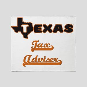 Texas Tax Adviser Throw Blanket