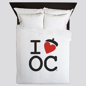 I Heart Oak Cliff Queen Duvet