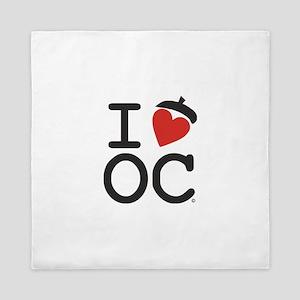 I Heart Oak Cliff Queen Duvet