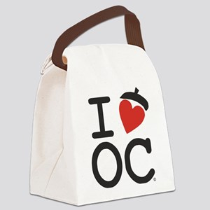 I Heart Oak Cliff Canvas Lunch Bag
