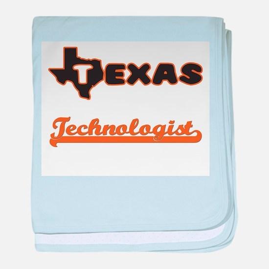 Texas Technologist baby blanket