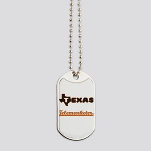 Texas Telemarketer Dog Tags