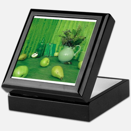 Green Study Keepsake Box