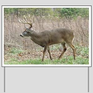 Whitetail buck Yard Sign