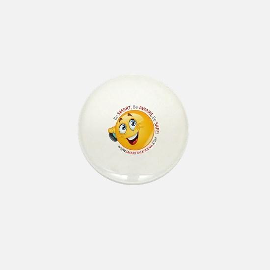 Smart Talk Social Mini Button