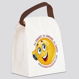 Smart Talk Social Canvas Lunch Bag