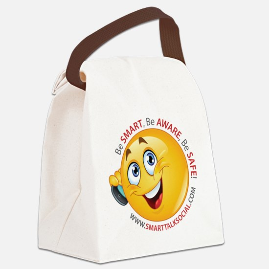 Smart Talk Social Canvas Lunch Bag