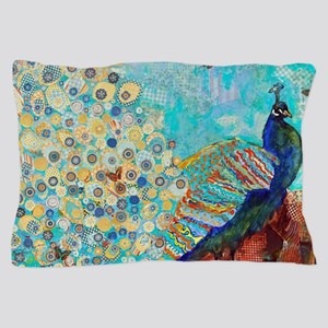 peacock paparazzi Pillow Case
