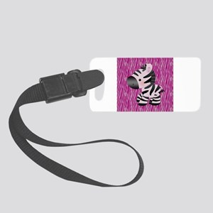 Baby Zebra For Kids Small Luggage Tag