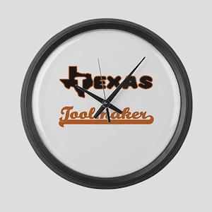 Texas Toolmaker Large Wall Clock