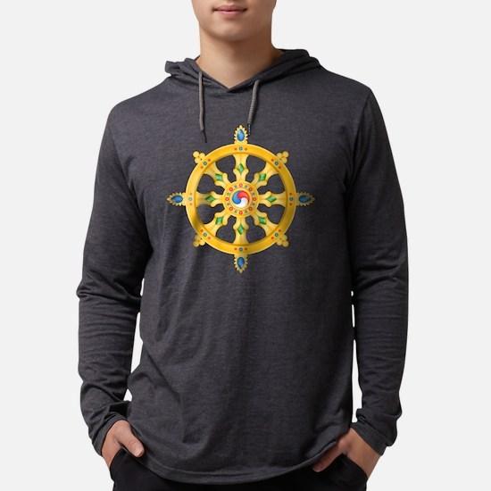 Dharmachakra whee Long Sleeve T-Shirt
